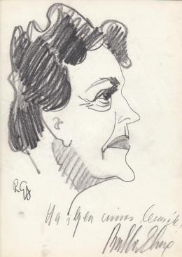 Rózsahegyi György - Bulla Elma színésznő portréja