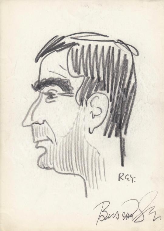 For sale  Rózsahegyi, György - Portrait of Gyula Buss Actor 's painting