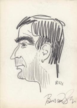 Rózsahegyi, György - Portrait of Gyula Buss Actor