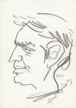 Rózsahegyi, György - Portrait of László Dózsa Actor
