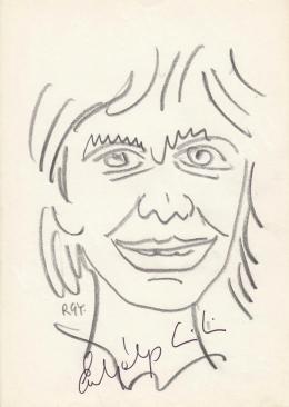 Rózsahegyi, György - Portrait of Lili Erdélyi Actress