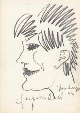 Rózsahegyi, György - Portrait of Anikó Felföldi Actress