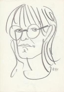 Rózsahegyi György - Földi Teri színésznő portréja