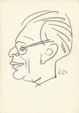 Rózsahegyi, György - Portrait of Péter Gál Actor