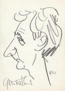 Rózsahegyi, György - Portrait of Dezső Garas Actor, Director