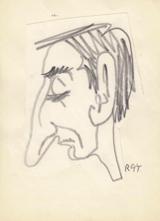 For sale  Rózsahegyi, György - Portrait of Dezső Garas Actor, Director 's painting