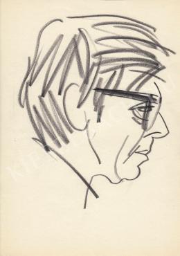 Rózsahegyi, György - Portrait of Miklós Gábor Actor