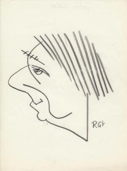 Rózsahegyi, György - Portrait of Hilda Gobbi Actress