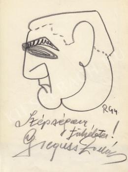 Rózsahegyi, György - Portrait of Zoltán Gregus Actor