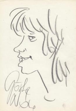 Rózsahegyi, György - Portrait of Nóra Görbe Actress