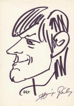 Rózsahegyi György - Harsányi Gábor színész, író, drámaíró portréja