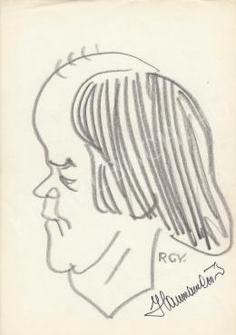 Rózsahegyi, György - Portrait of Péter Haumann Actor, Director