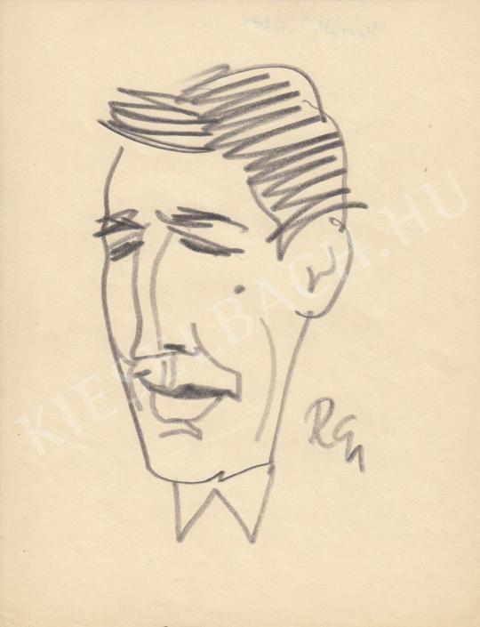 For sale  Rózsahegyi, György - Portrait of an Unknown Hugarian Actor 's painting