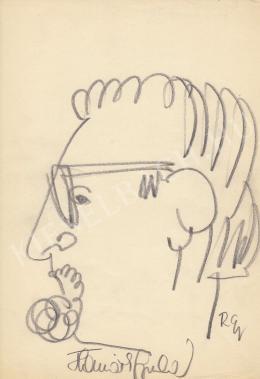 Rózsahegyi, György - Portrait of Gyula Horváth Actor