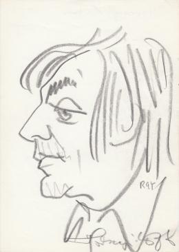 Rózsahegyi, György - Portrait of László Horesnyi Actor