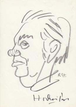 Rózsahegyi, György - Portrait of János Horkai Actor