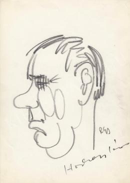 Rózsahegyi György - Horkai János színész portréja