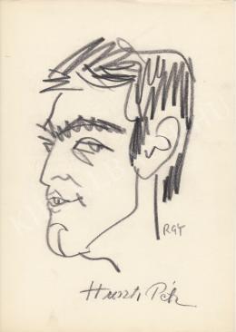 Rózsahegyi, György - Portrait of Péter Huszti Actor, Director