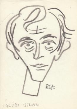 Rózsahegyi, György - Portrait of István Iglódi Actor