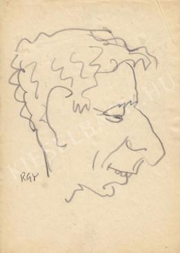 Rózsahegyi, György - Portrait of László Kabos Actor