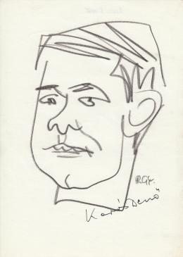 Rózsahegyi, György - Portrait of Dezső Kapás Actor
