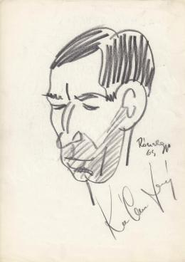 Rózsahegyi, György - Portrait of György Kálmán Actor (1970-80s)