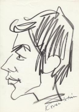 Rózsahegyi, György - Portrait of István Kovács Actor, Director