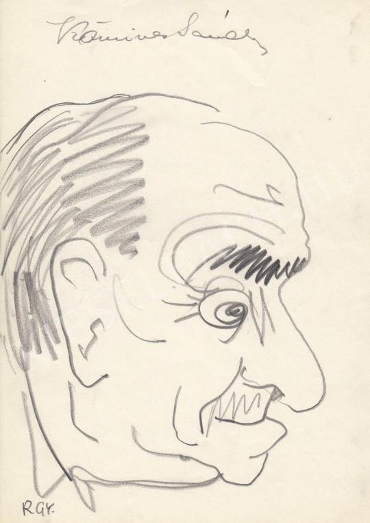 For sale  Rózsahegyi, György - Portrait of Sándor Kőmíves Actor 's painting