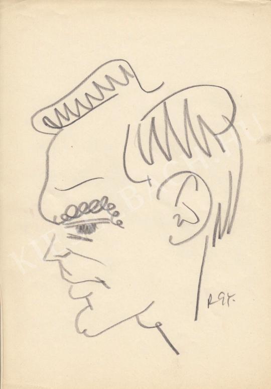 Eladó  Rózsahegyi György - Latinovits Zoltán színész portréja festménye