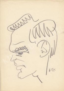 Rózsahegyi, György - Portrait of Zoltán Latinovits Actor