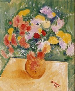 Szolnay, Sándor - Still life of flowers