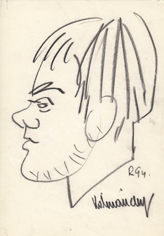 Eladó  Rózsahegyi György - Kálmánchey Zoltán grafikus portréja festménye
