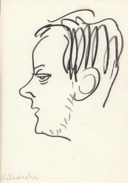 Rózsahegyi György - Kálmánchey Zoltán grafikus portréja (1970-80-as évek)