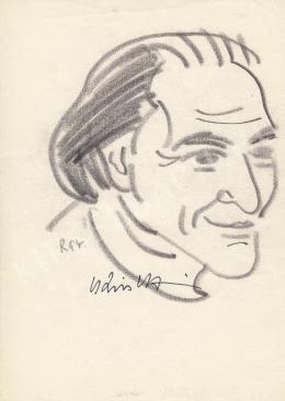 Rózsahegyi György - Kiss István szobrász portréja