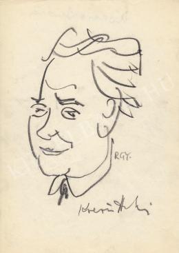 Rózsahegyi György - Kocsis András szobrász portréja