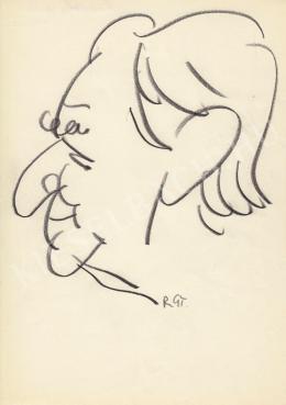 Rózsahegyi György - Kisfaludi Strobl Zsigmond szobrász portréja