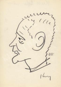 Rózsahegyi György - Kucs Béla szobrász portréja