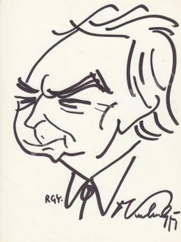 Rózsahegyi György - Kulin György csillagász portréja