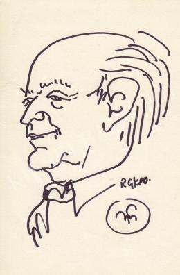 Rózsahegyi György - Martyn Ferenc festőművész portréja
