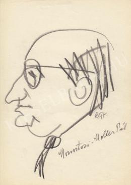Rózsahegyi György - Monostori Moller Pál festő portréja