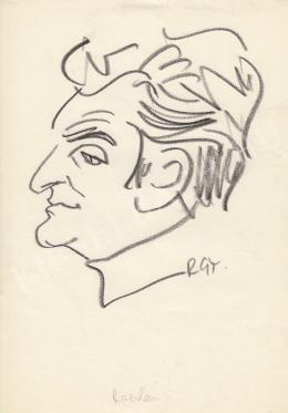 Rózsahegyi, György - Portrait of Károly Raszler Graphics