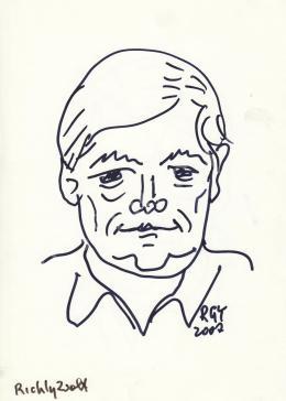 Rózsahegyi György - Richly Zsolt rajzfilmkészítő, grafikus portréja