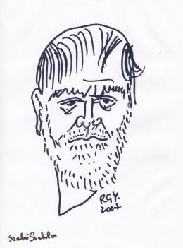 Rózsahegyi György - Szabó Szabolcs rajzfilmkészítő portréja