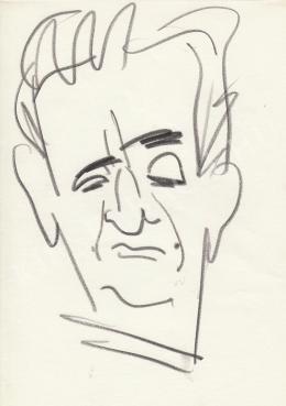 Rózsahegyi György - Szabó Iván szobrász portréja