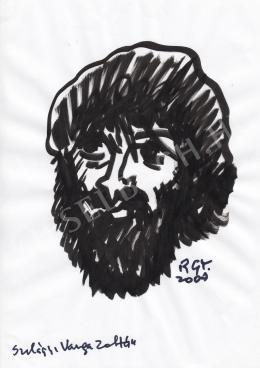 Rózsahegyi György - Szilágyi Varga Zoltán grafikus, rajzfilmkészítő portréja