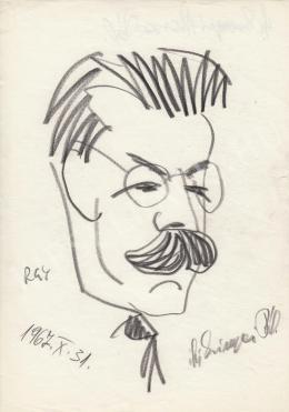 Rózsahegyi György - ifj.Szinyei Merse Pál portréja