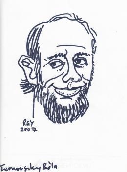 Rózsahegyi György - Ternovszky Béla rajzfilmkészítő portréja