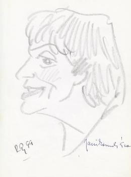 Rózsahegyi György - Janikovszky Éva költő, író, szerkesztő portréja