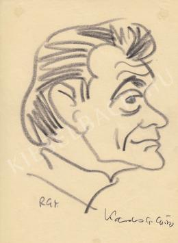 Rózsahegyi György - Kardos G. György író portréja