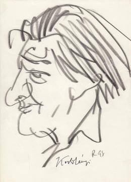Rózsahegyi György - Kodolányi János író portréja